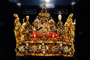 豪華絢爛な王冠の写真・画像素材[1471634]