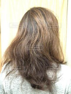 くせっ毛の写真・画像素材[1476933]
