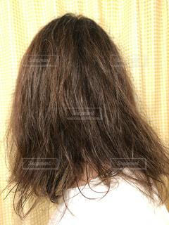 広がる髪 悩みの写真・画像素材[2657734]