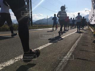 マラソンの写真・画像素材[1476897]