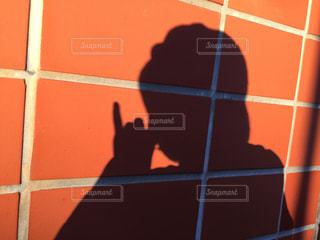 女性の影の写真・画像素材[1637200]