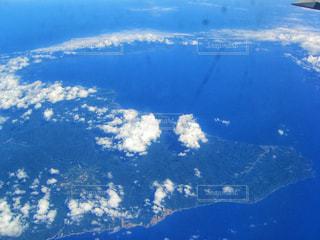 北海道上空、航空写真の写真・画像素材[1657016]
