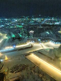 五稜郭タワーからの眺め、五稜星の夢の写真・画像素材[1676190]