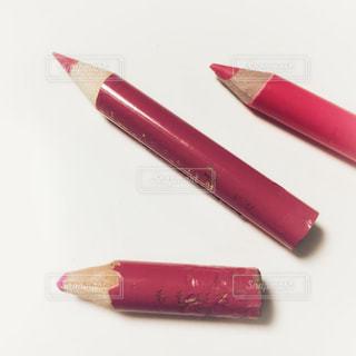 ピンク色の色鉛筆の写真・画像素材[1709541]