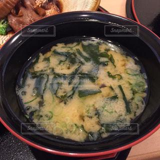 スープのボウルの写真・画像素材[1878268]