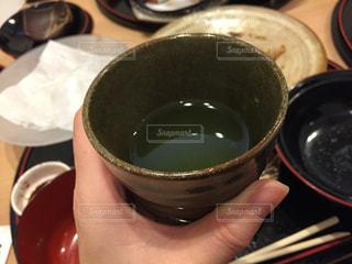 一杯のお茶の写真・画像素材[1878350]
