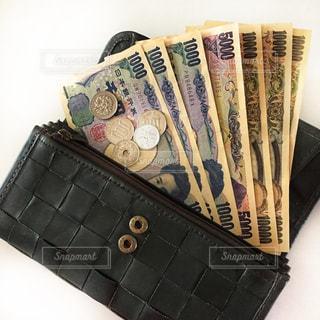 お金と財布の写真・画像素材[2399405]