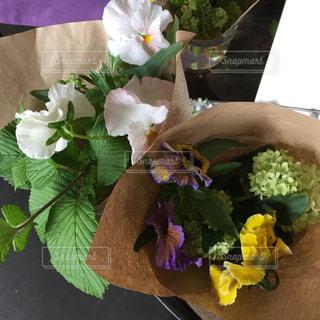 テーブルの上の花瓶の写真・画像素材[2406484]