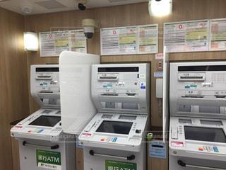 ATMの機械の写真・画像素材[2910257]