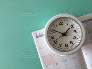 手帳 時計の写真・画像素材[3156924]