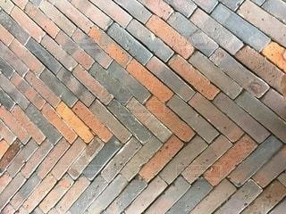 レンガの壁の写真・画像素材[3550529]