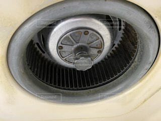 キッチンの換気扇の写真・画像素材[3996628]