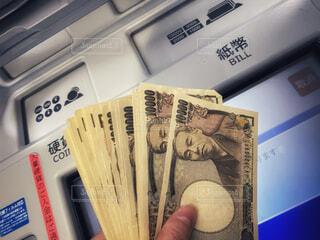 ATMとお金、20万円です。の写真・画像素材[4077746]