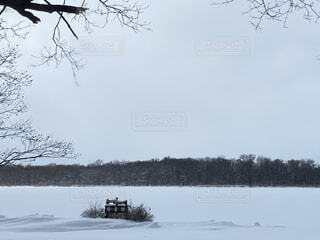 網走湖の写真・画像素材[4119251]
