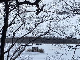 網走湖の写真・画像素材[4119252]