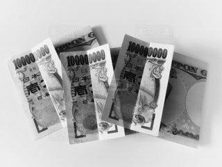 一万円札が三枚の写真・画像素材[4167111]