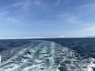 砕氷船おーろらからみる景色の写真・画像素材[4206608]