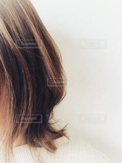 女性のクローズアップの写真・画像素材[4238687]