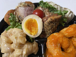 お惣菜のオードブルの写真・画像素材[4729245]