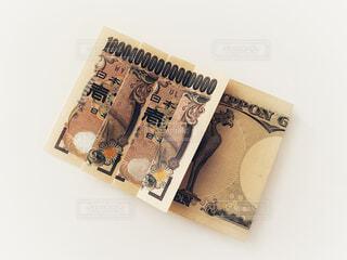 一万円札で1京の写真・画像素材[4771612]