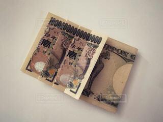 一万円札で1京の写真・画像素材[4771617]