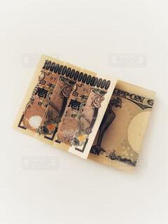 一万円札で1京の写真・画像素材[4771614]