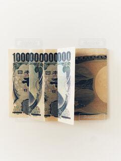 千円札で一兆円の写真・画像素材[4771781]