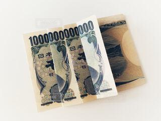 千円札で一兆円の写真・画像素材[4771783]