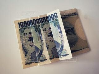 千円札で一兆円の写真・画像素材[4771784]
