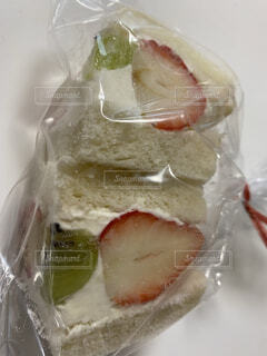 フルーツサンドイッチの写真・画像素材[4941809]
