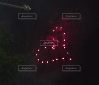ハートの花火の写真・画像素材[1527414]