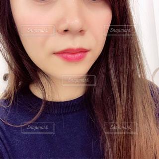 クローズ アップの女の子のの写真・画像素材[1645083]