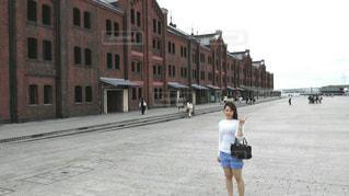 自撮りの写真・画像素材[2011626]