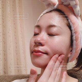 歯を磨く人の写真・画像素材[2189806]