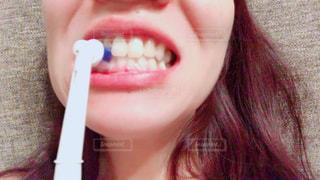 歯ブラシの写真・画像素材[2400103]
