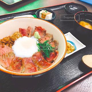 あか牛丼の写真・画像素材[1482203]