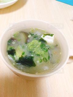 スープのボウルの写真・画像素材[1474261]