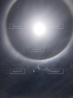 太陽リング2の写真・画像素材[2187573]