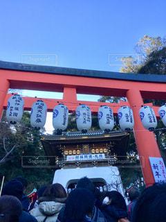 江ノ島神社の鳥居の写真・画像素材[1476122]