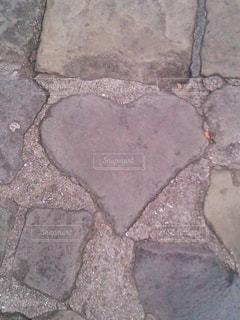 グラバー邸のハートストーンの写真・画像素材[1476254]