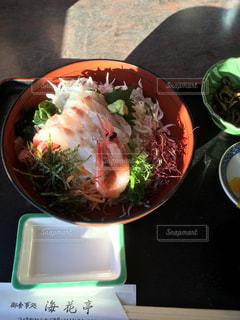 鯛シラス丼の写真・画像素材[1478648]
