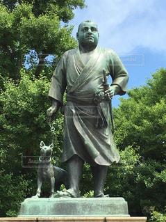 西郷隆盛像の写真・画像素材[1499151]