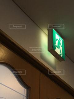 非常口とゆうか玄関の写真・画像素材[1497908]