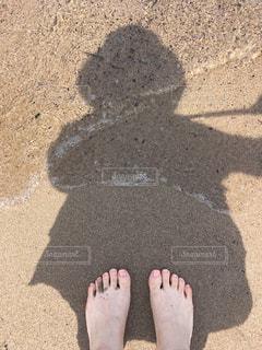 砂浜♡の写真・画像素材[2089402]