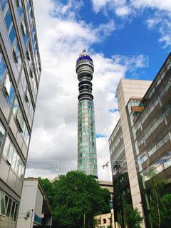 ロンドン市内のタワーの写真・画像素材[1477530]