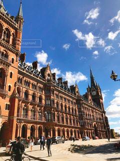 ロンドンのセントパンクラス駅の写真・画像素材[1479512]