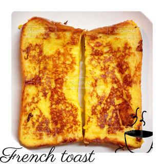 フレンチトーストの写真・画像素材[1476869]