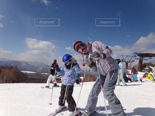 スキーの写真・画像素材[1490630]