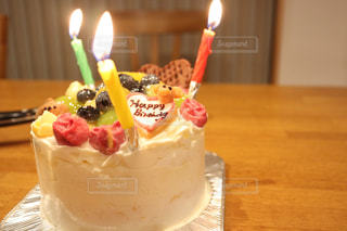誕生日ケーキの写真・画像素材[1478132]