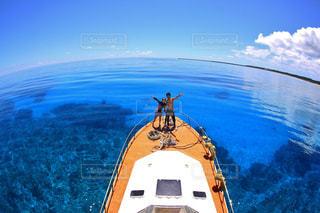 海の上の写真・画像素材[1486386]